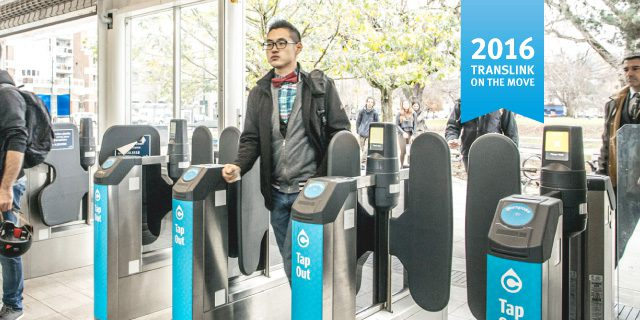 TransLink on the Move Fare gates
