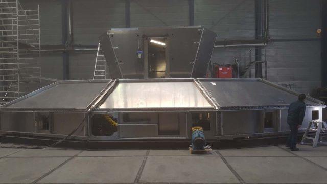 Photo of the New SeaBus Wheelhouse