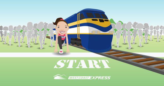 Photo of West Coast Express Sun Run Train