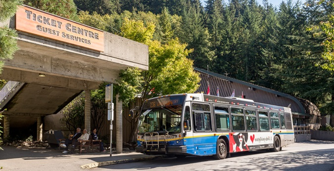 Grouse Mountain Bus