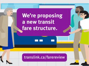 We're proposing a new transit fare structure