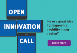 Have a great idea for improving mobility in our region? Let's hear it!