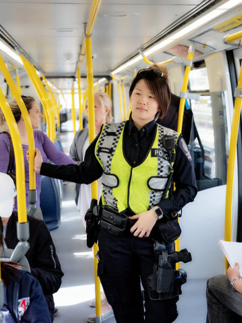 Transit Police Constable Jenny Cheung