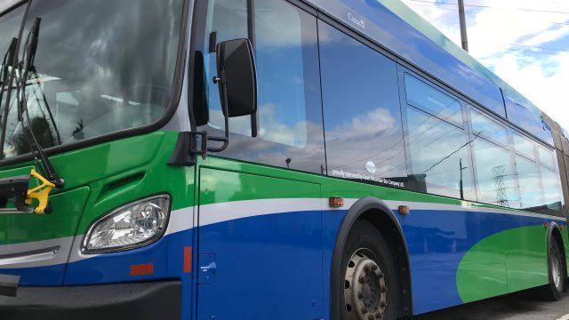 TransLink Green New Flyer Bus