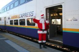 West Coast Express Santa Train