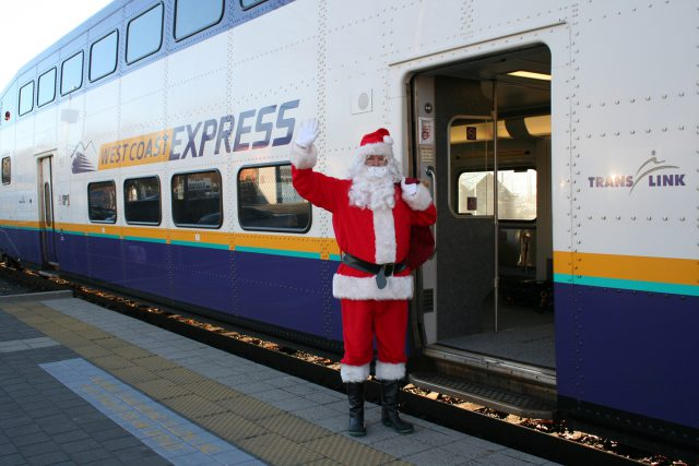 West Coast Express Santa Train