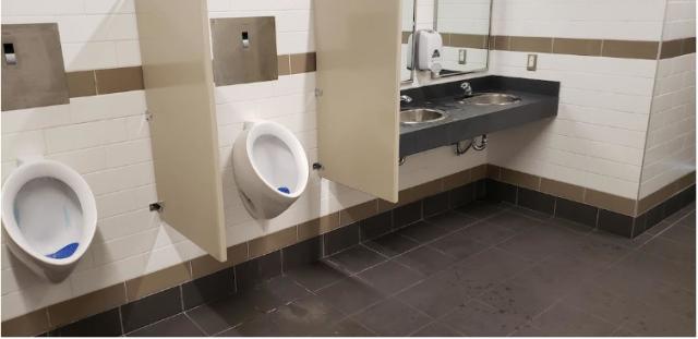 UBC bus operator washroom