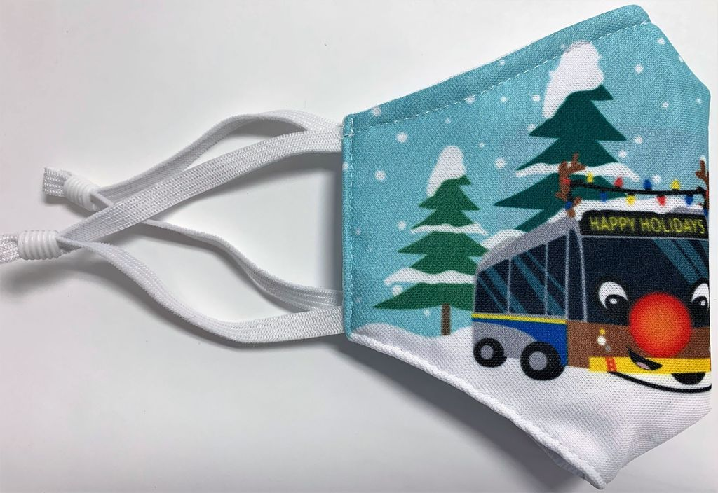 Reindeer Bus mask (kids)