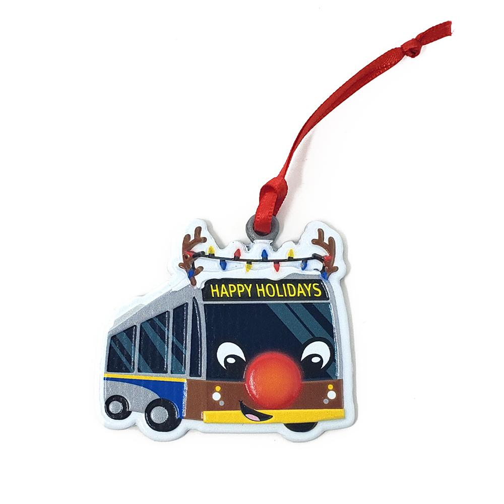 Reindeer Bus ornament