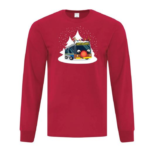 Reindeer Bus t-shirt