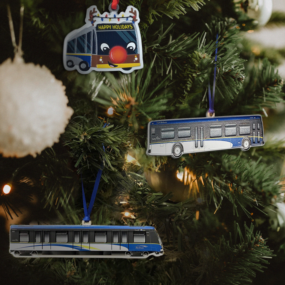 TransLink ornament collection