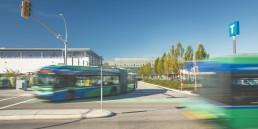 The R4 41st Ave RapidBus at the University of British Columbia