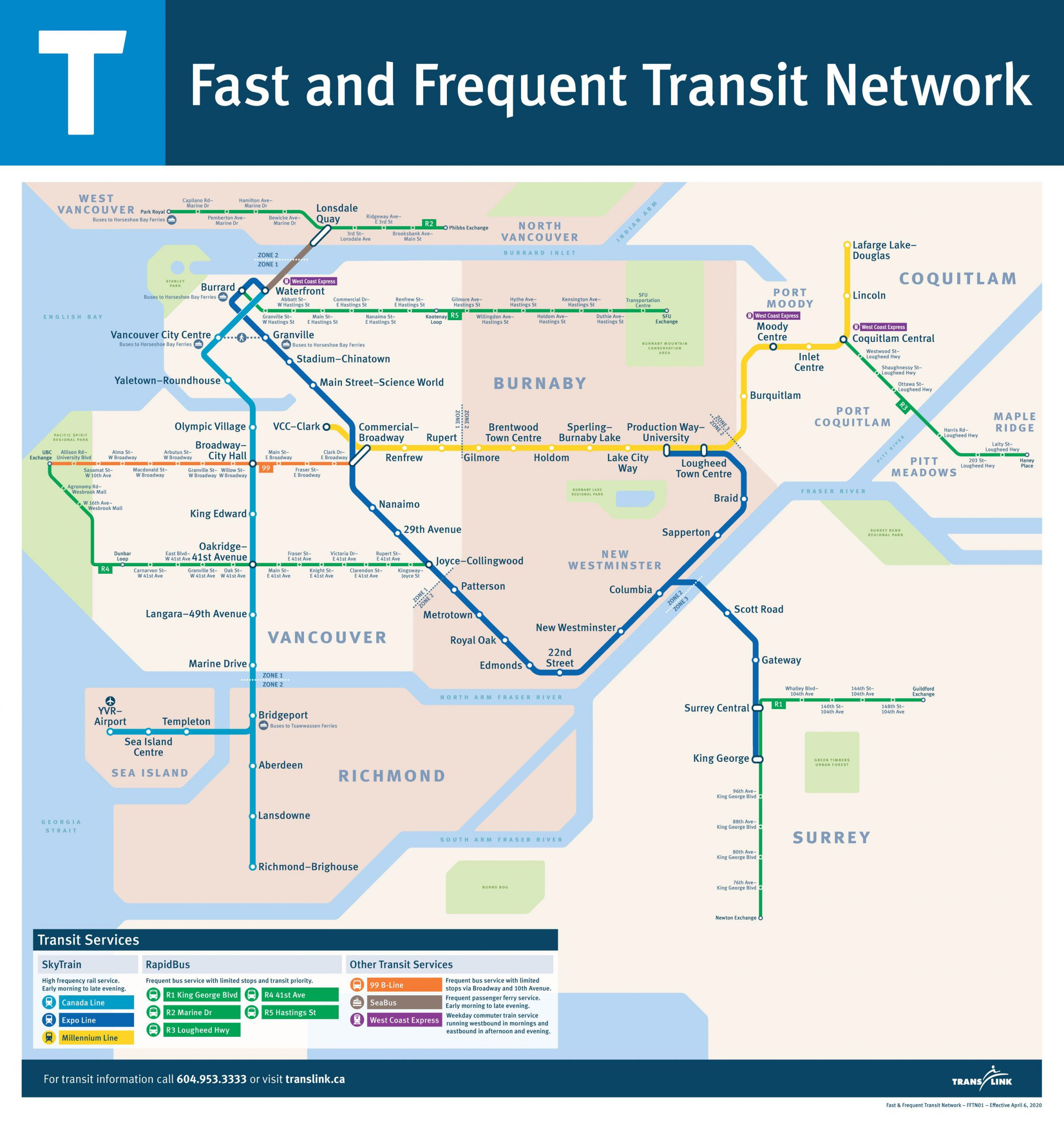"The ""Fast and Frequent Transit Network"" Map"
