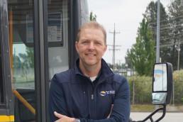 Community shuttle operator Mike Nancke