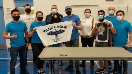 The volunteers for Blue Eagle Community Cadet Program