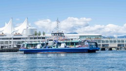 Side view of the Burrard Chinook SeaBus